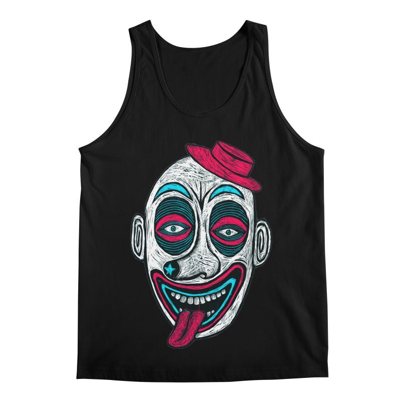 Clown Men's Regular Tank by Sean StarWars' Artist Shop