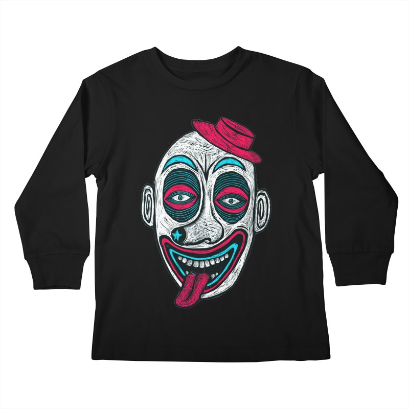Clown Kids Longsleeve T-Shirt by Sean StarWars' Artist Shop