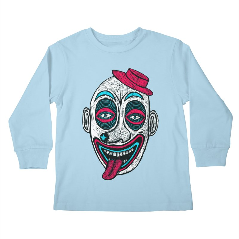 Clown Kids Longsleeve T-Shirt by Sean StarWars' Artist Shop