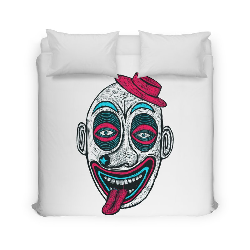 Clown Home Duvet by Sean StarWars' Artist Shop