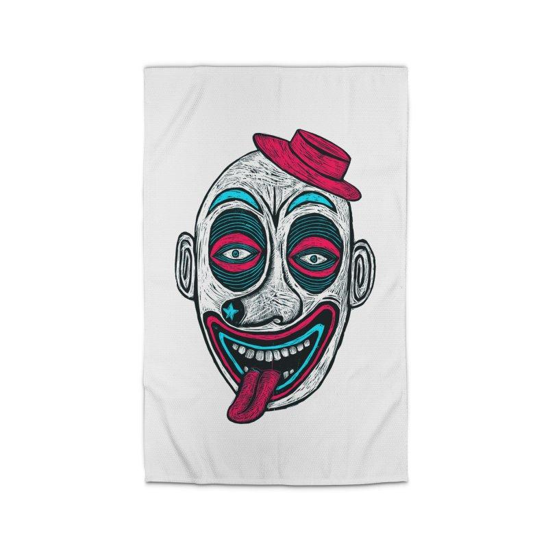 Clown Home Rug by Sean StarWars' Artist Shop