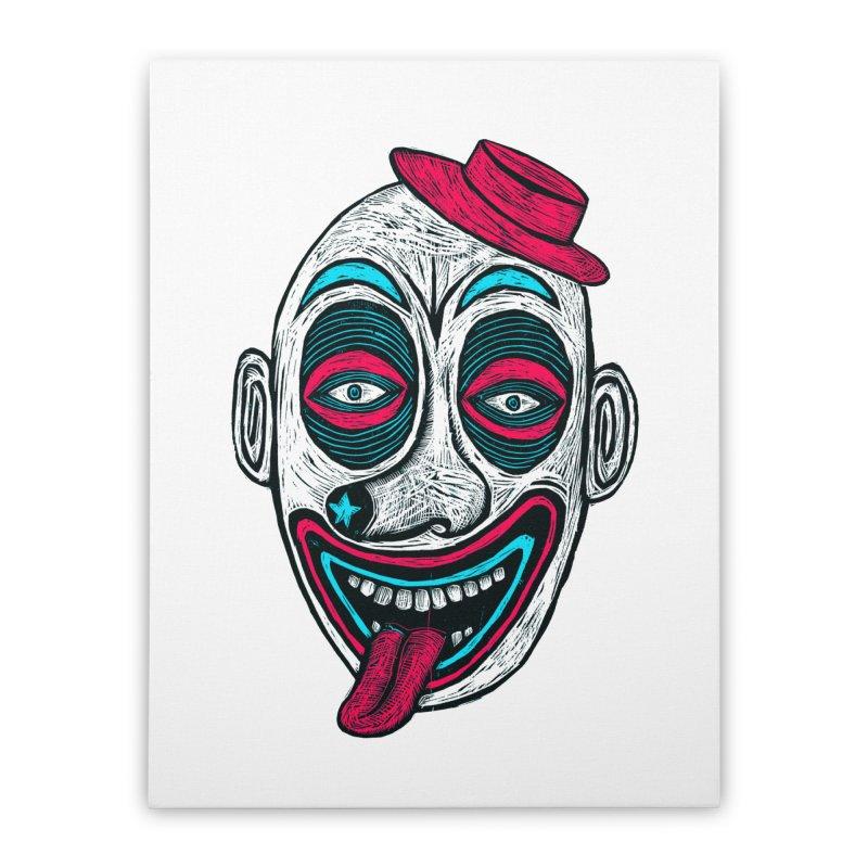 Clown Home Stretched Canvas by Sean StarWars' Artist Shop