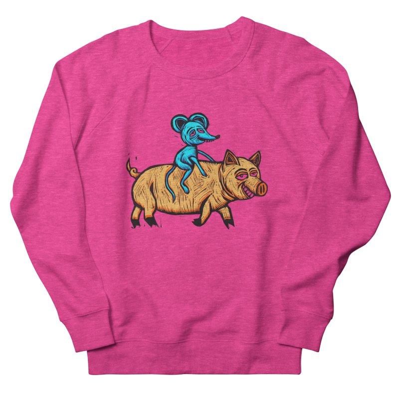 Piggyback Ride Women's Sweatshirt by Sean StarWars' Artist Shop