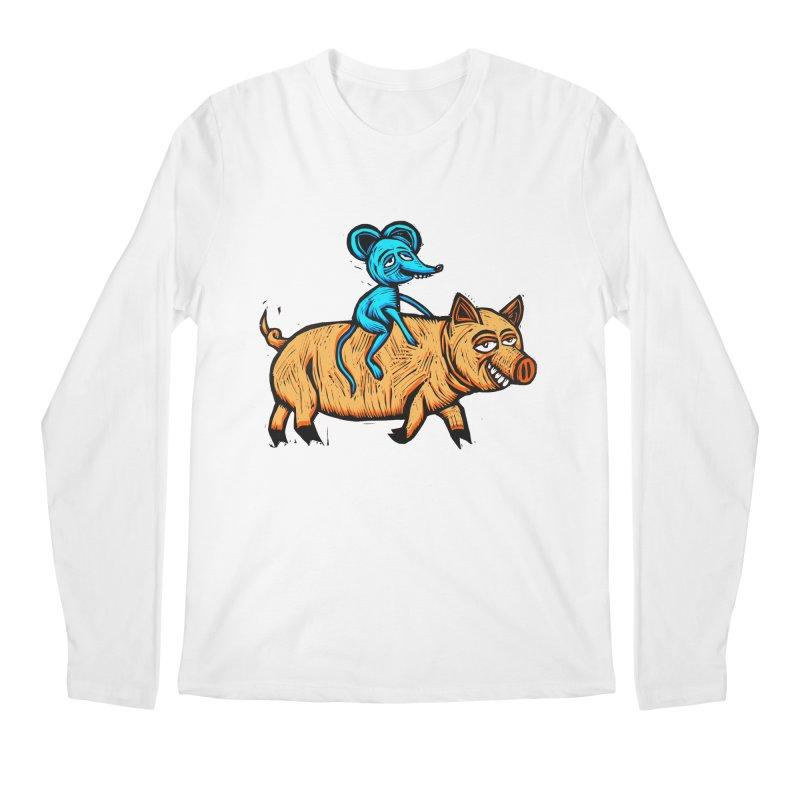 Piggyback Ride Men's Regular Longsleeve T-Shirt by Sean StarWars' Artist Shop