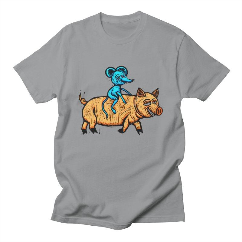 Piggyback Ride Men's T-Shirt by Sean StarWars' Artist Shop