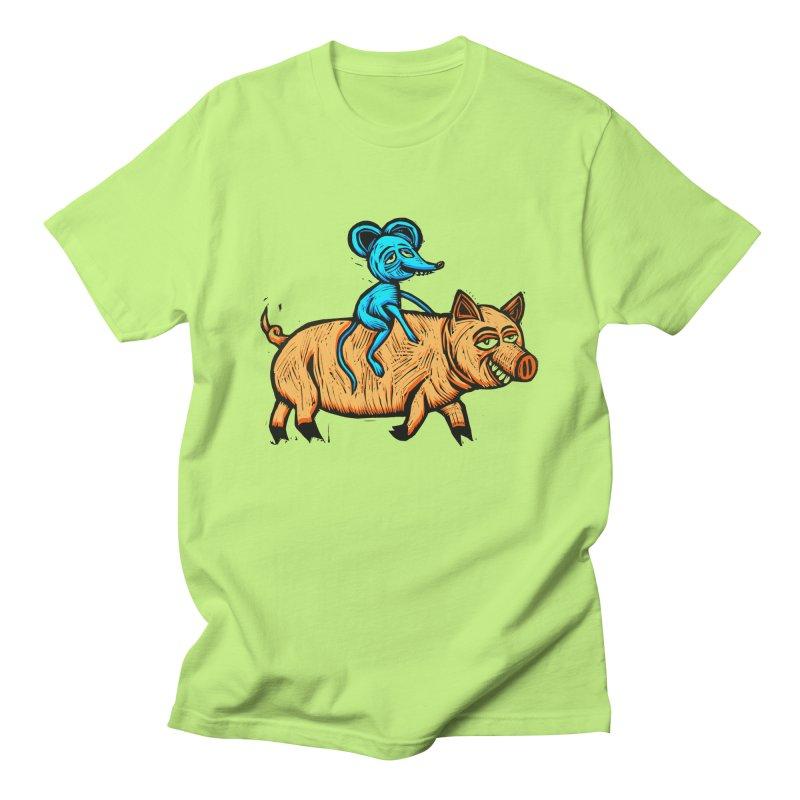 Piggyback Ride Women's Unisex T-Shirt by Sean StarWars' Artist Shop