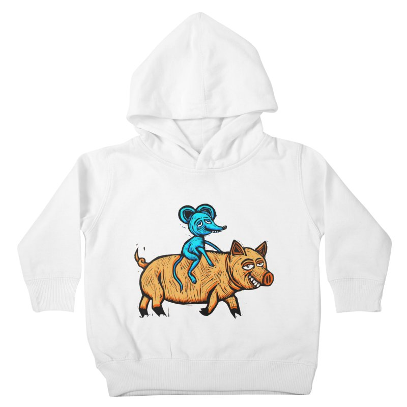 Piggyback Ride Kids Toddler Pullover Hoody by Sean StarWars' Artist Shop