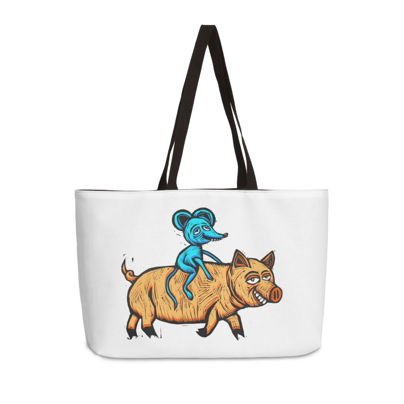 Piggyback Ride Accessories Bag by Sean StarWars' Artist Shop