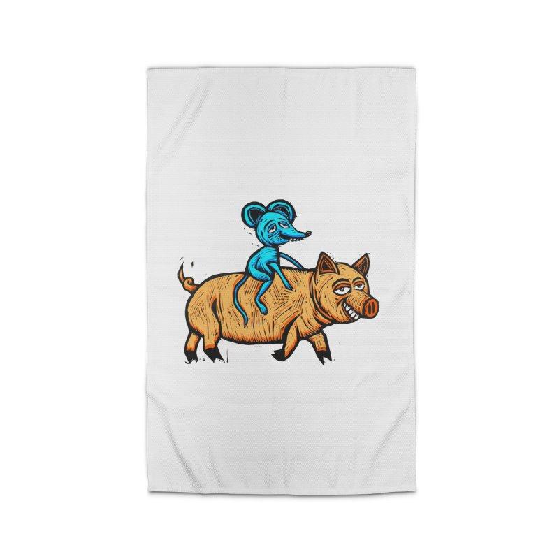 Piggyback Ride Home Rug by Sean StarWars' Artist Shop