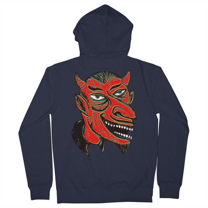 Devil Head Women's Zip-Up Hoody by Sean StarWars' Artist Shop