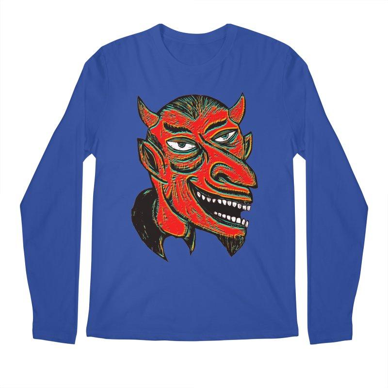Devil Head Men's Longsleeve T-Shirt by Sean StarWars' Artist Shop