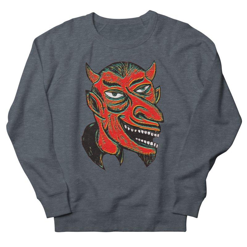 Devil Head Women's Sweatshirt by Sean StarWars' Artist Shop