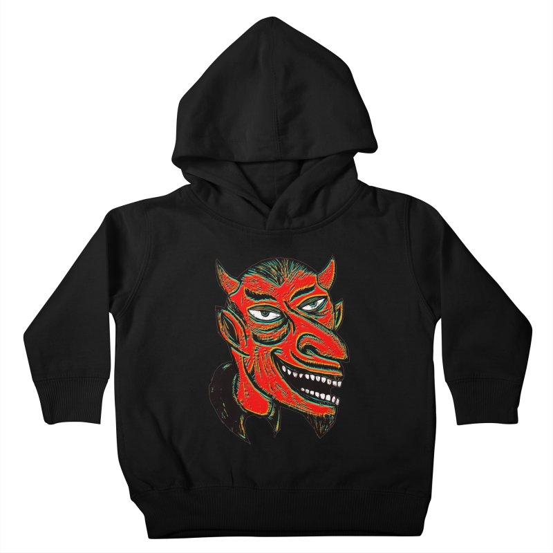 Devil Head Kids Toddler Pullover Hoody by Sean StarWars' Artist Shop