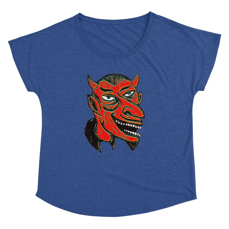 Devil Head Women's Dolman Scoop Neck by Sean StarWars' Artist Shop