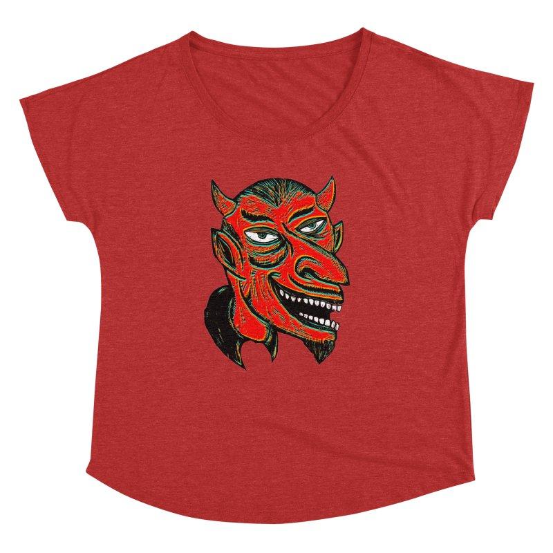 Devil Head Women's Dolman by Sean StarWars' Artist Shop