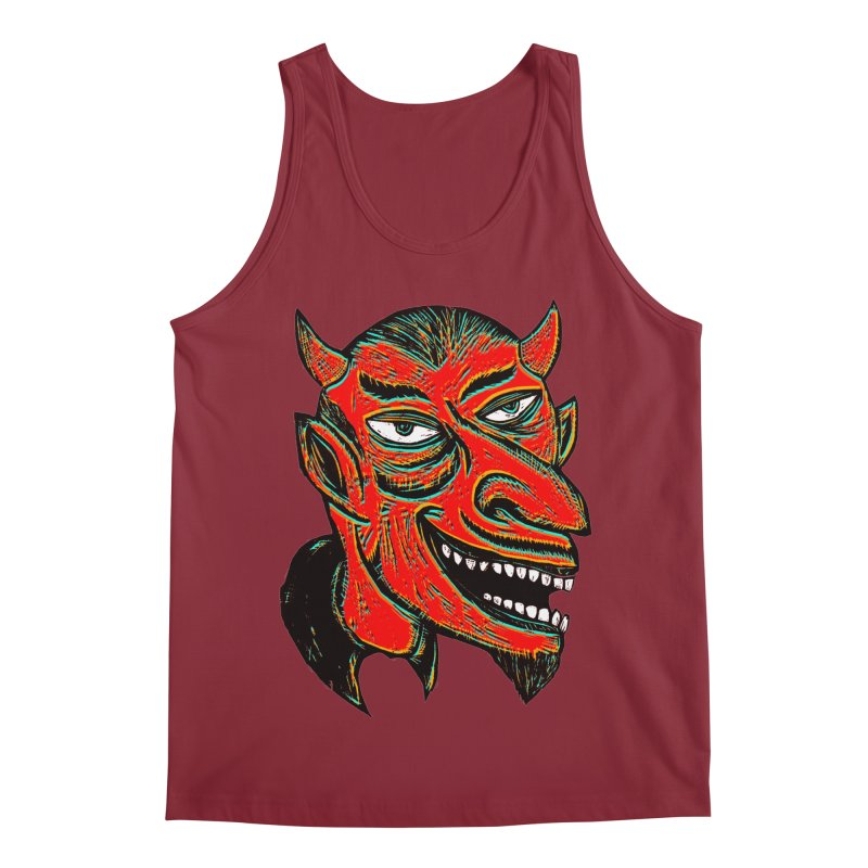 Devil Head Men's Regular Tank by Sean StarWars' Artist Shop