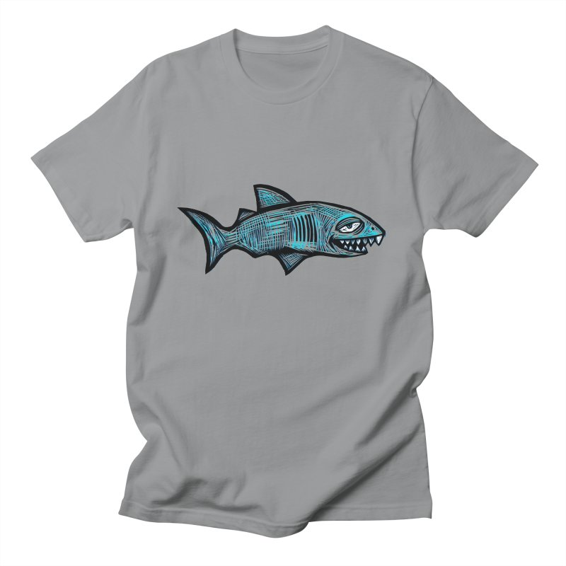 Shark Women's Regular Unisex T-Shirt by Sean StarWars' Artist Shop