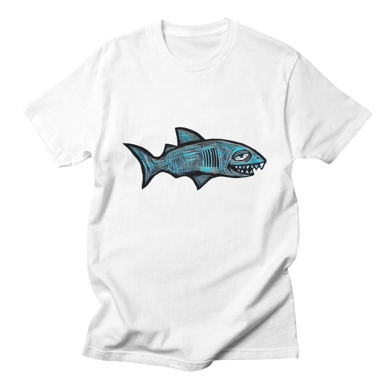 Shark Men's Regular T-Shirt by Sean StarWars' Artist Shop