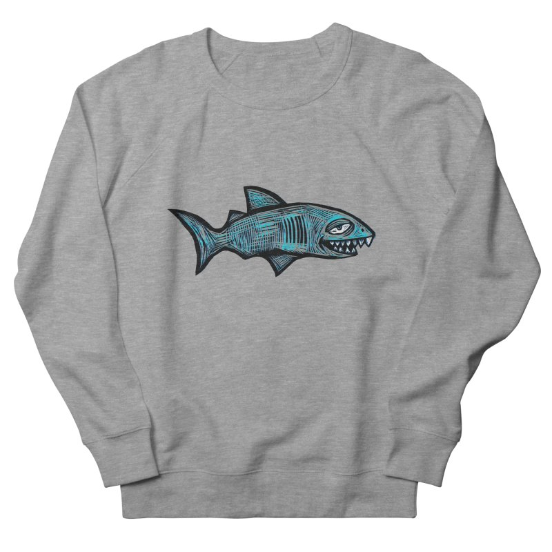Shark Men's Sweatshirt by Sean StarWars' Artist Shop