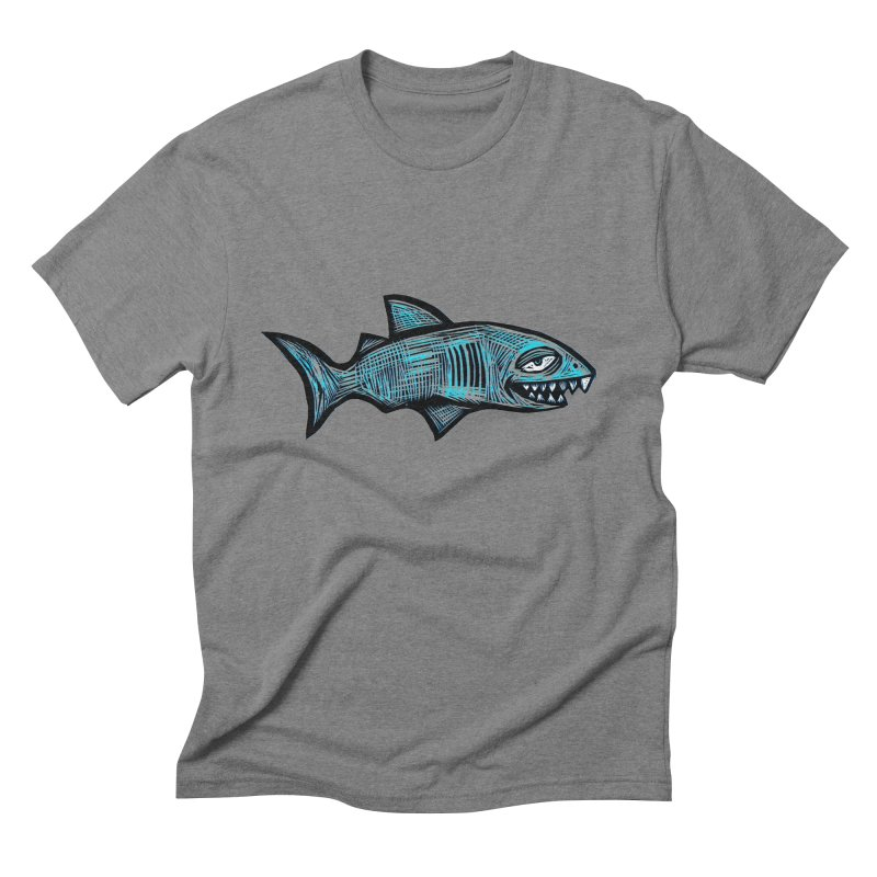 Shark Men's Triblend T-Shirt by Sean StarWars' Artist Shop