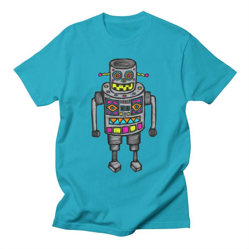 Robot 67 Women's T-Shirt by Sean StarWars' Artist Shop