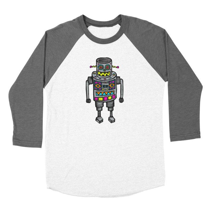 Robot 67 Women's Longsleeve T-Shirt by Sean StarWars' Artist Shop