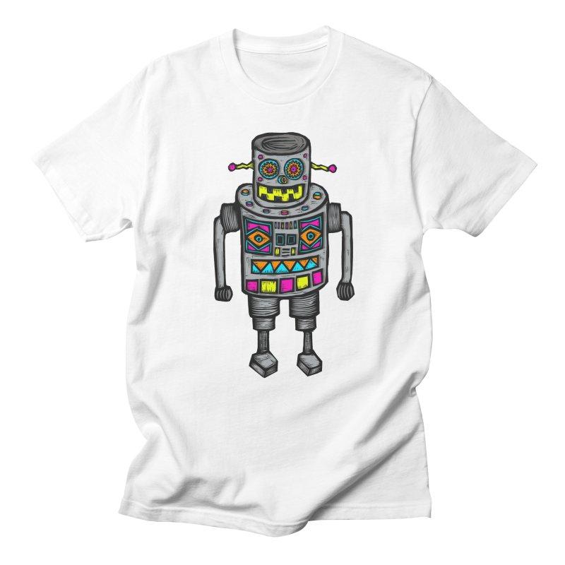 Robot 67 Men's T-Shirt by Sean StarWars' Artist Shop