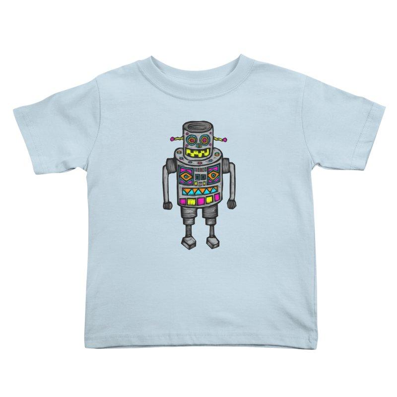 Robot 67 Kids Toddler T-Shirt by Sean StarWars' Artist Shop