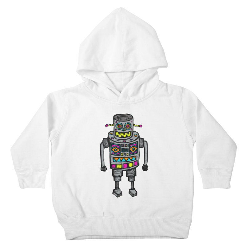Robot 67 Kids Toddler Pullover Hoody by Sean StarWars' Artist Shop