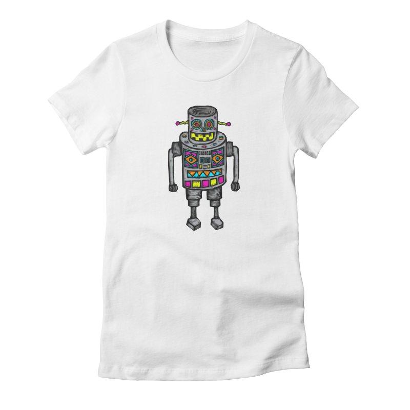 Robot 67 Women's Lounge Pants by Sean StarWars' Artist Shop
