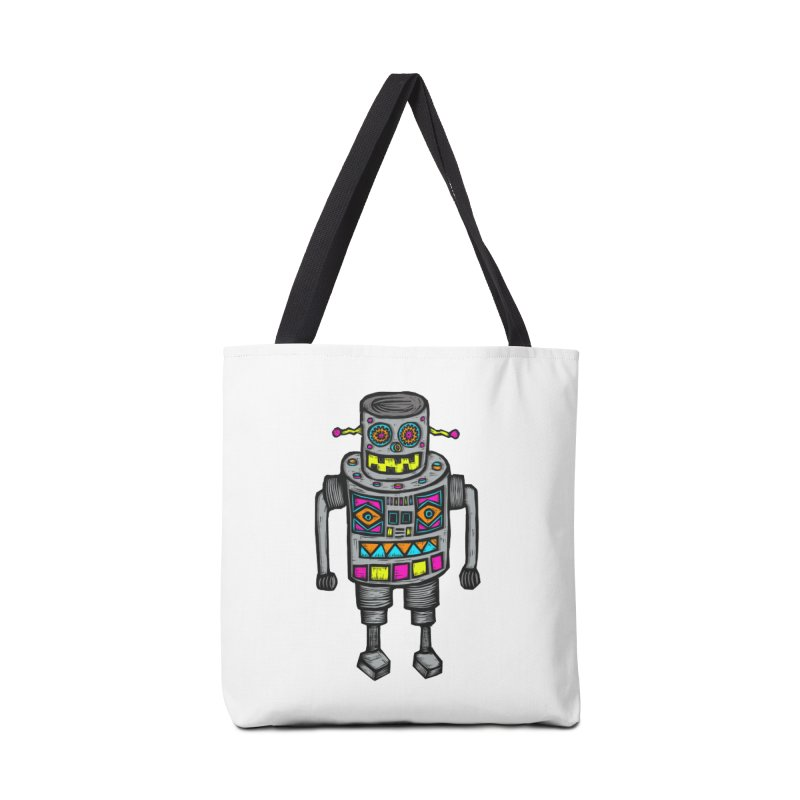Robot 67 Accessories Bag by Sean StarWars' Artist Shop