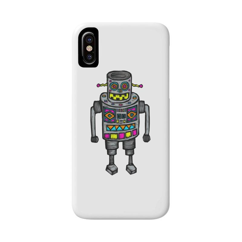 Robot 67 Accessories Phone Case by Sean StarWars' Artist Shop