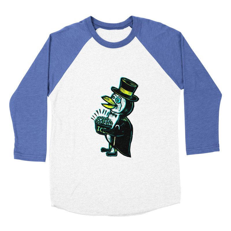 Johnny Kool Women's Baseball Triblend T-Shirt by Sean StarWars' Artist Shop