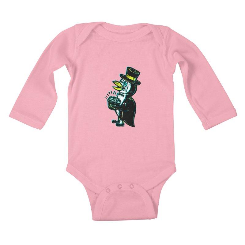 Johnny Kool Kids Baby Longsleeve Bodysuit by Sean StarWars' Artist Shop