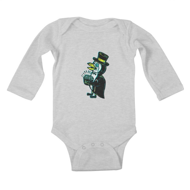 Johnny Kool Kids Baby Longsleeve Bodysuit by Sean StarWars' Artist Shop