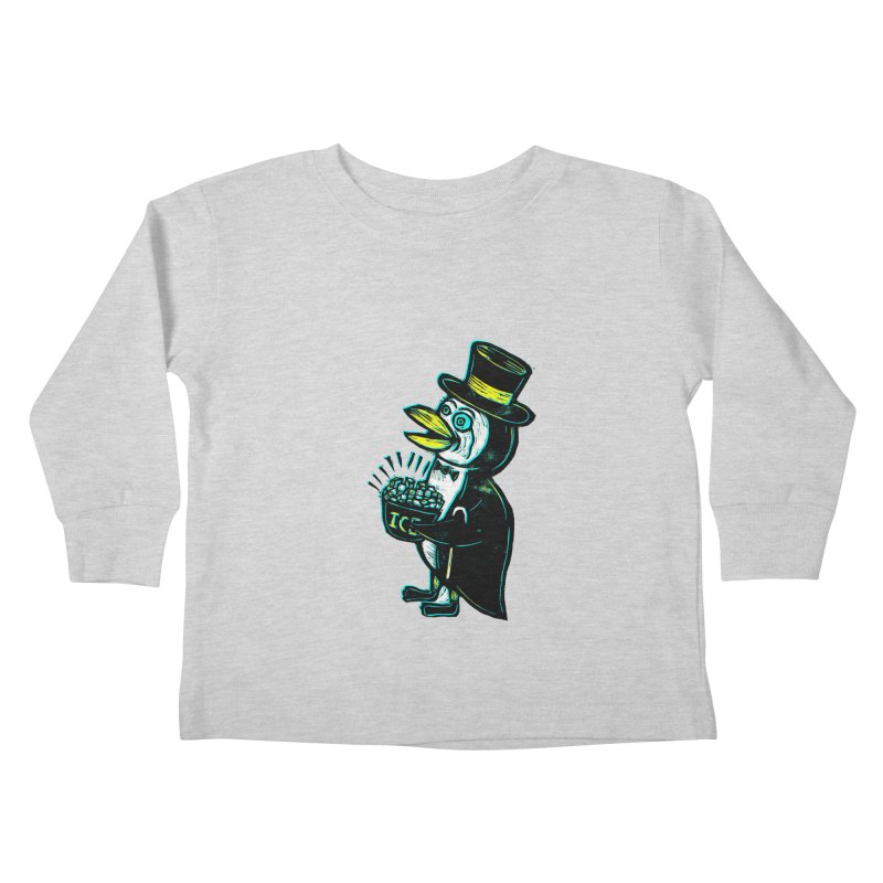 Johnny Kool Kids Toddler Longsleeve T-Shirt by Sean StarWars' Artist Shop