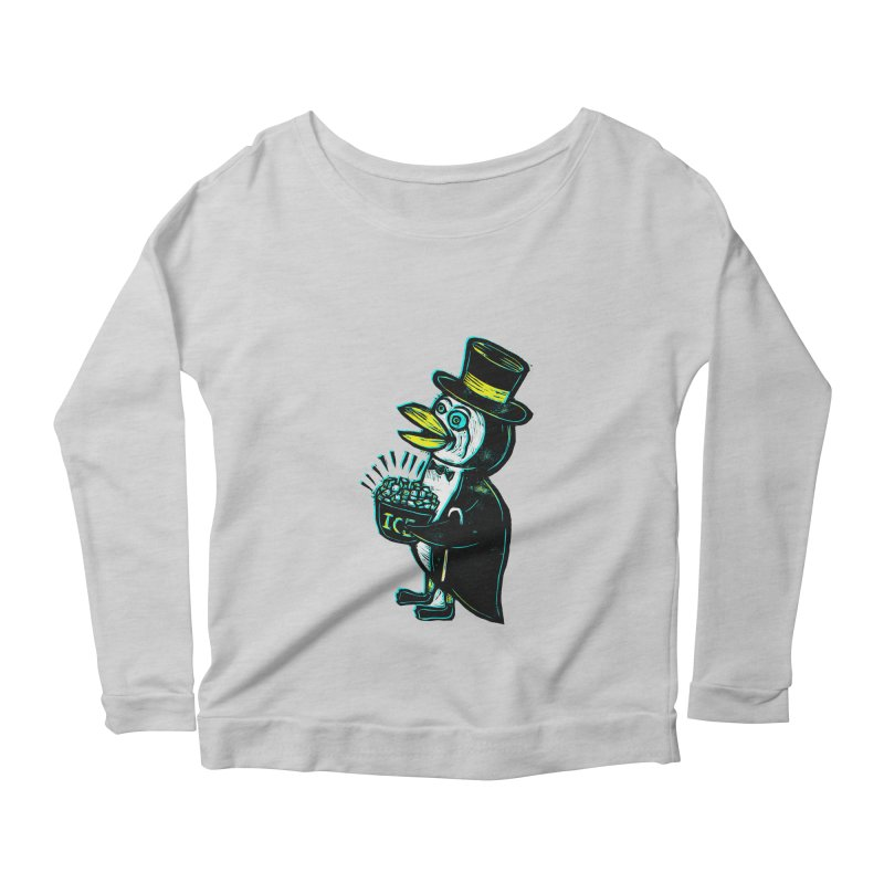 Johnny Kool Women's Longsleeve Scoopneck  by Sean StarWars' Artist Shop