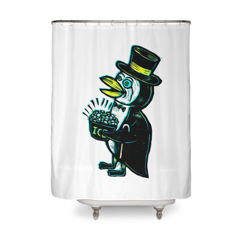 Johnny Kool Home Shower Curtain by Sean StarWars' Artist Shop