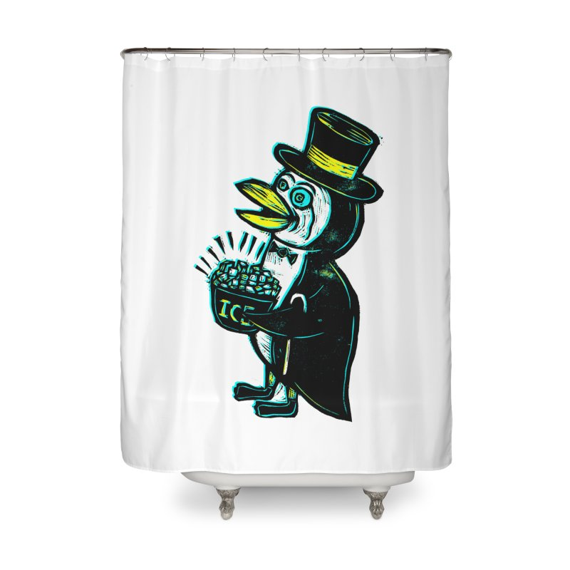 Johnny Kool Home Shower Curtain by Sean StarWars' Artist Shop