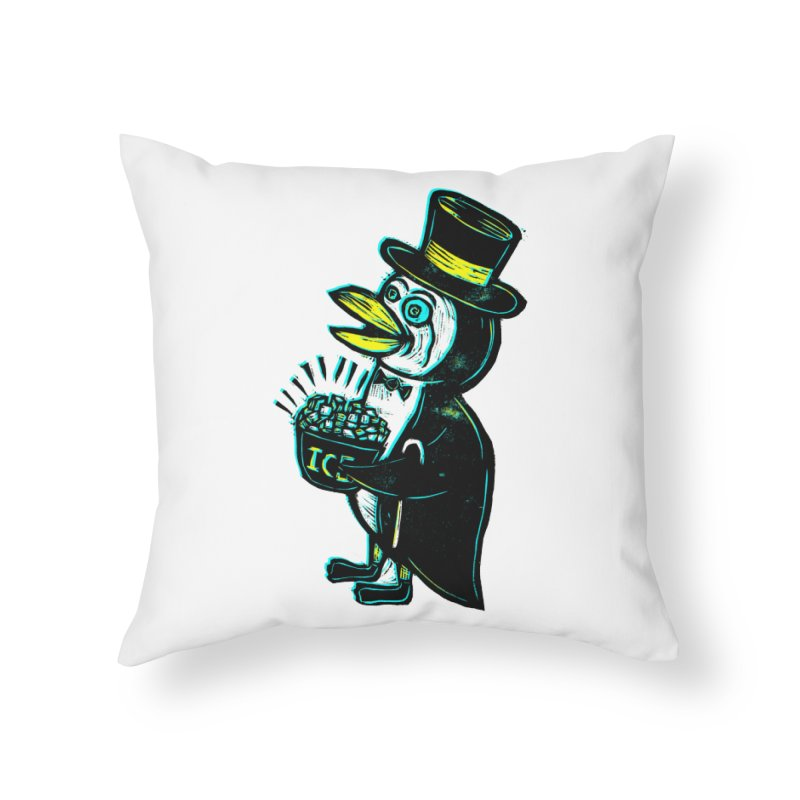 Johnny Kool Home Throw Pillow by Sean StarWars' Artist Shop