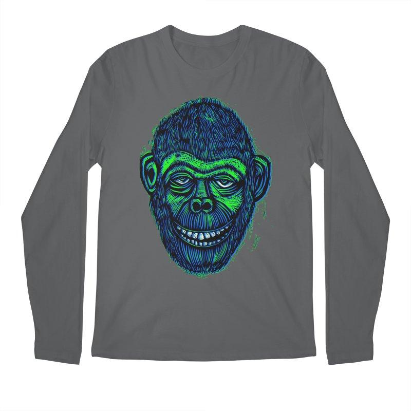 Chimp Men's Longsleeve T-Shirt by Sean StarWars' Artist Shop