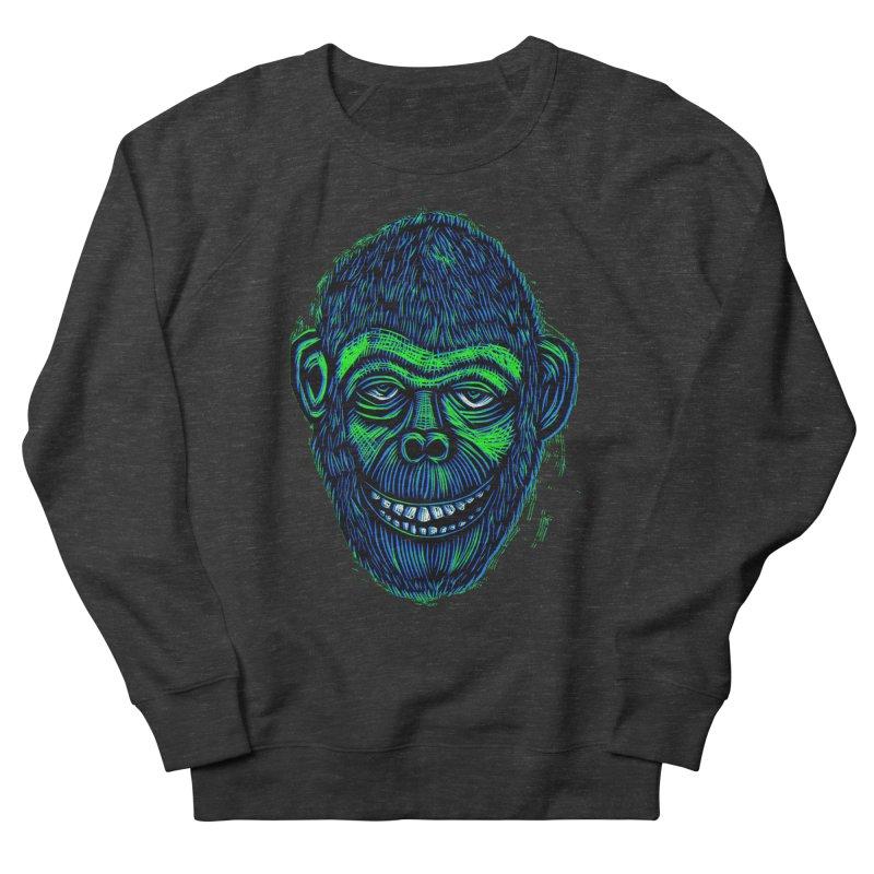 Chimp Women's Sweatshirt by Sean StarWars' Artist Shop