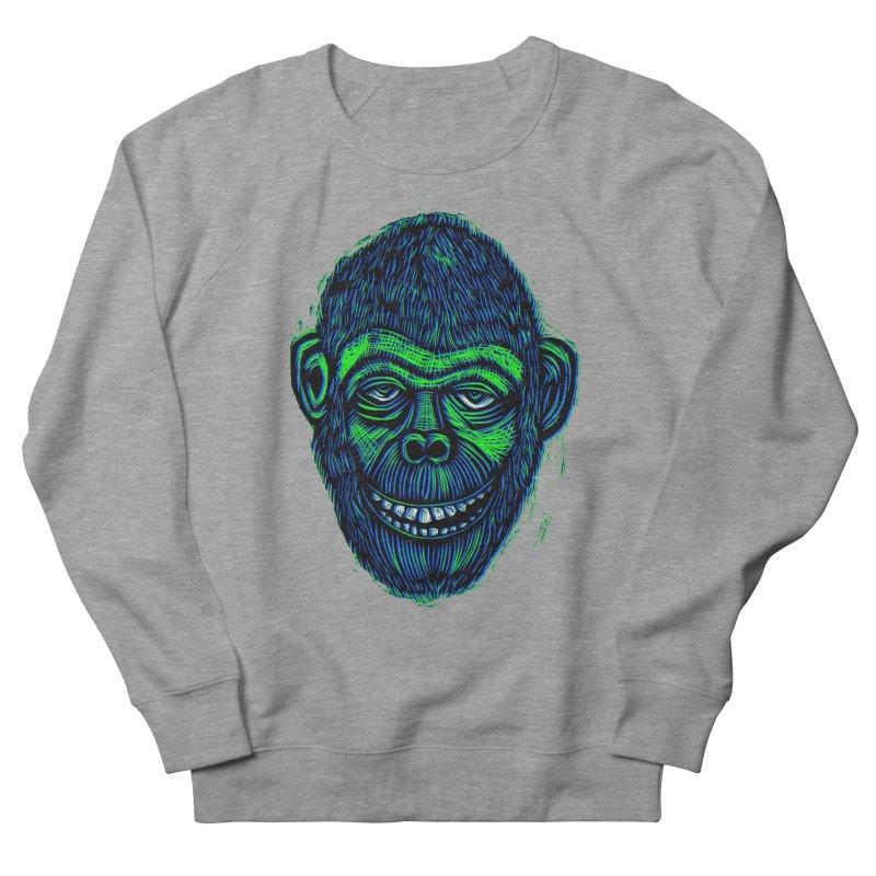 Chimp Men's Sweatshirt by Sean StarWars' Artist Shop