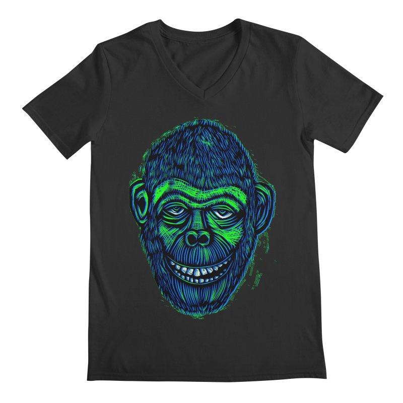 Chimp Men's V-Neck by Sean StarWars' Artist Shop