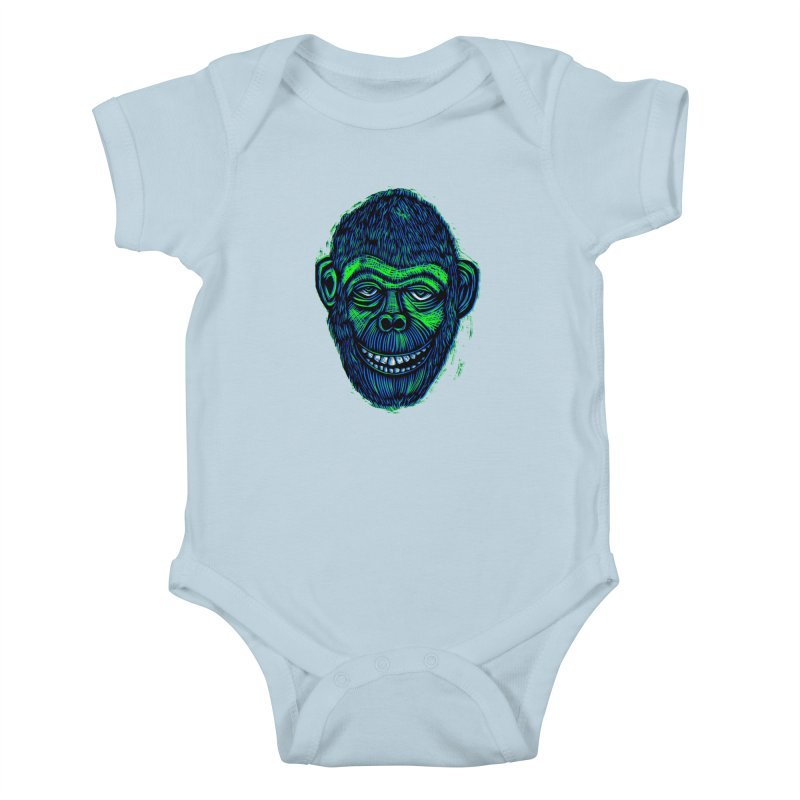 Chimp Kids Baby Bodysuit by Sean StarWars' Artist Shop