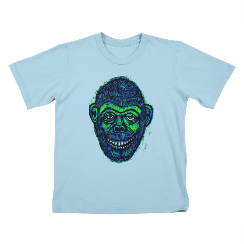 Chimp Kids T-Shirt by Sean StarWars' Artist Shop