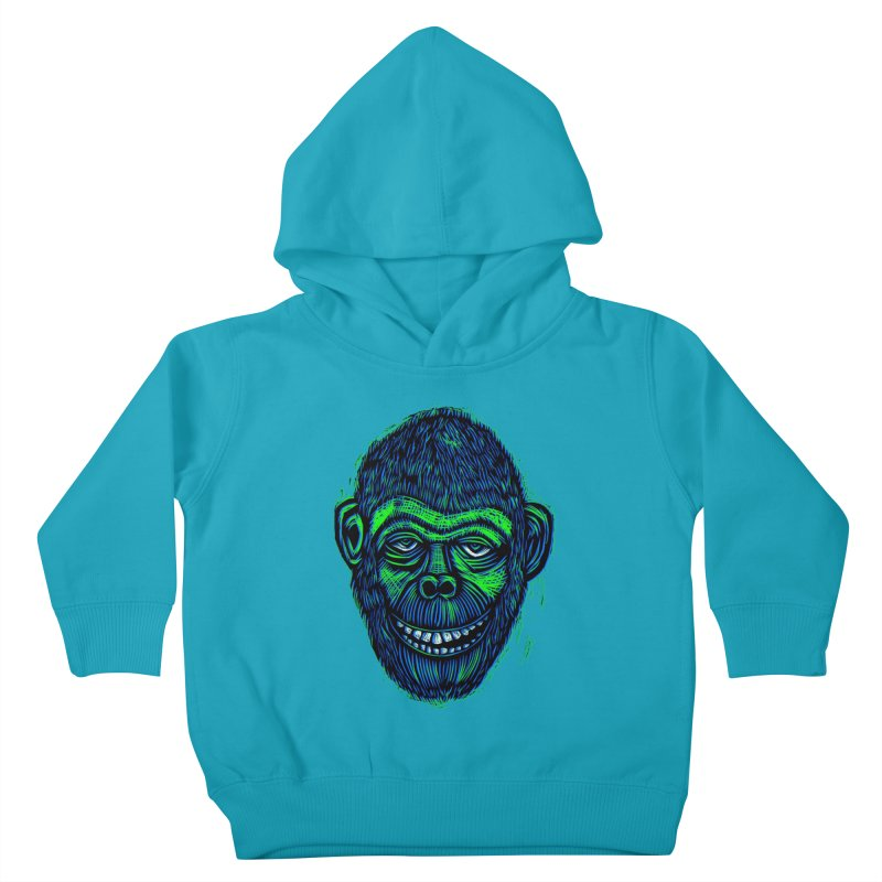 Chimp Kids Toddler Pullover Hoody by Sean StarWars' Artist Shop