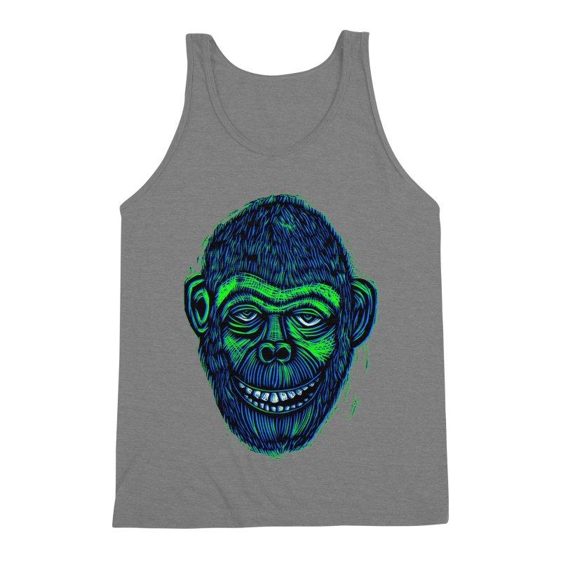 Chimp Men's Triblend Tank by Sean StarWars' Artist Shop