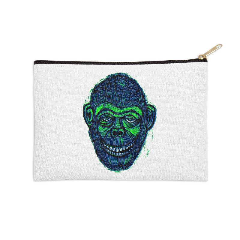 Chimp Accessories Zip Pouch by Sean StarWars' Artist Shop