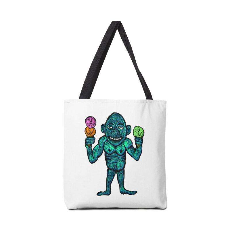 Ice Cream Chimp Accessories Bag by Sean StarWars' Artist Shop